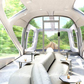 Новый японский поезд: 5 самых интересных фактов