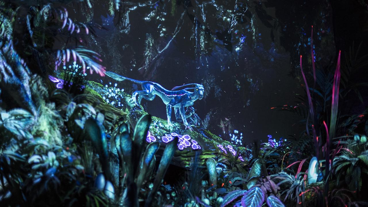 Аватар пандора ночью