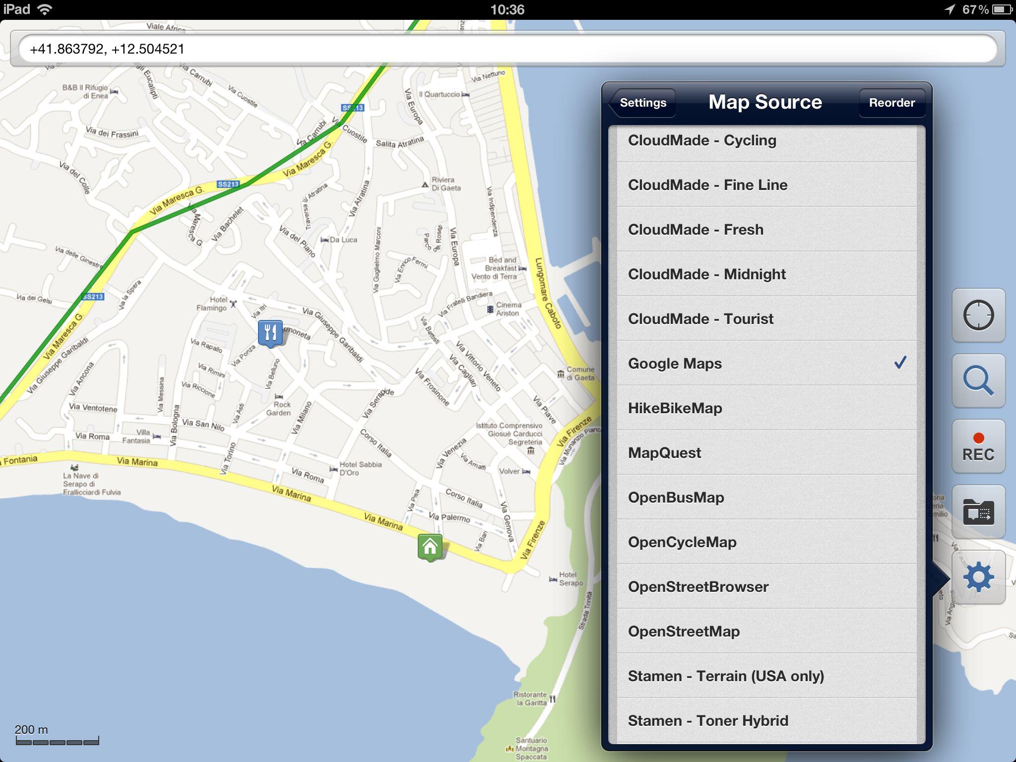 Galileo Offline Maps для Айфона