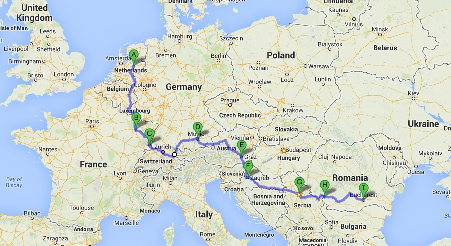 карта GoogleMaps
