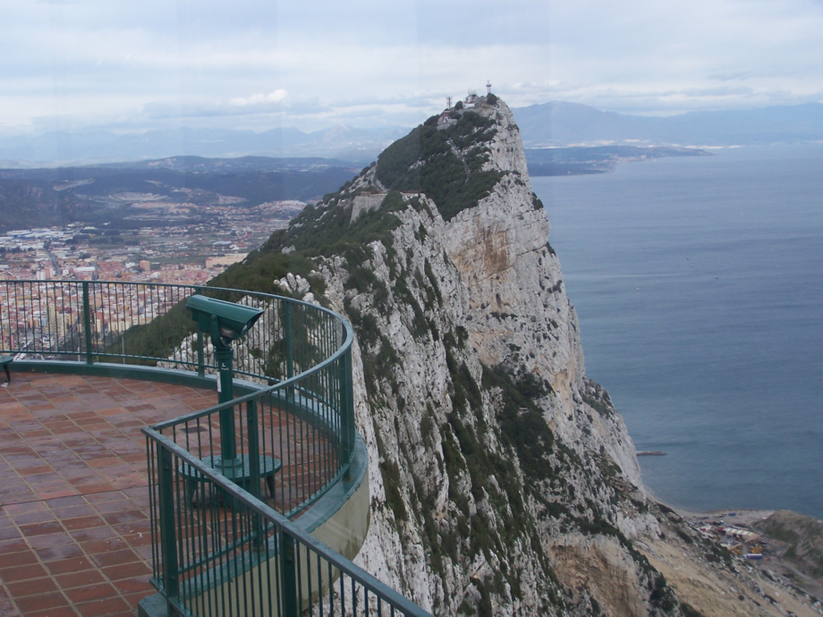 Незапланированная поездка в Гибралтар