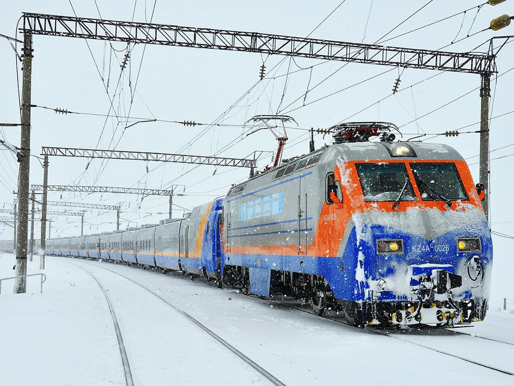 в Центральную и Восточную Азию на поезде