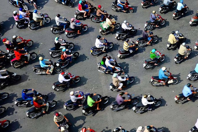 Сложнейшие дорожные развязки мира, вьетнам