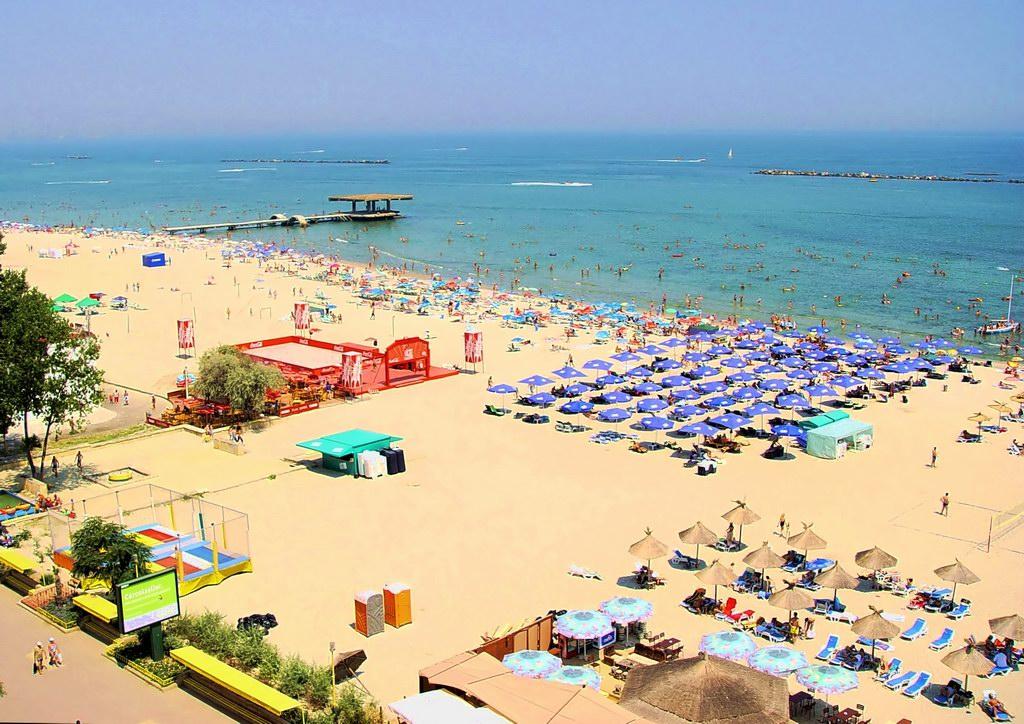 курорт Румыния, пляжи