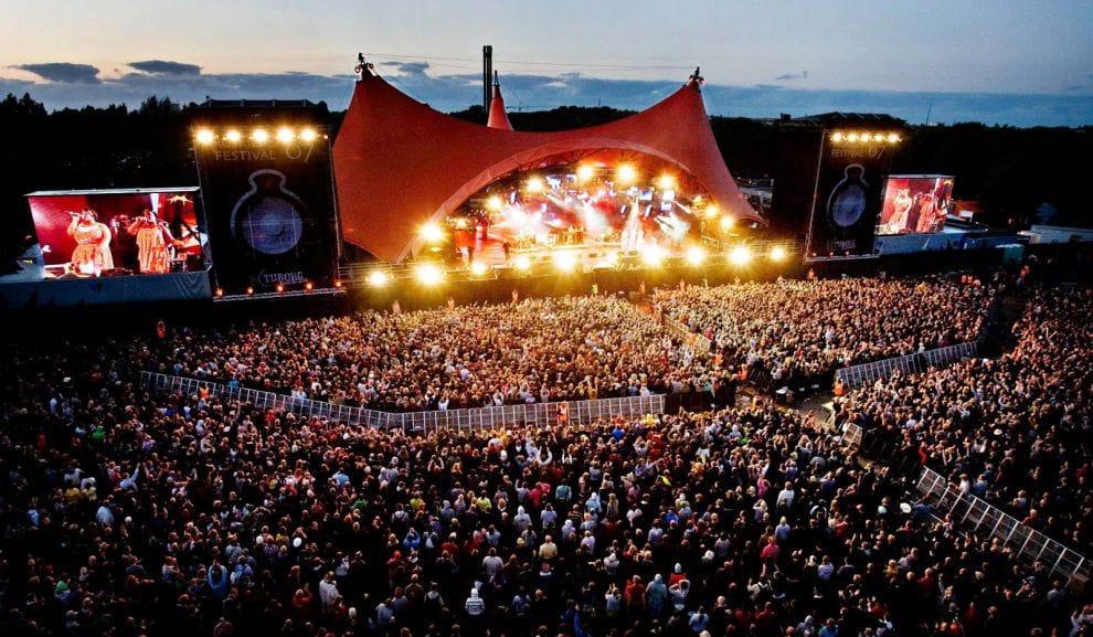 roskilde, музыкальные фестивали Европы