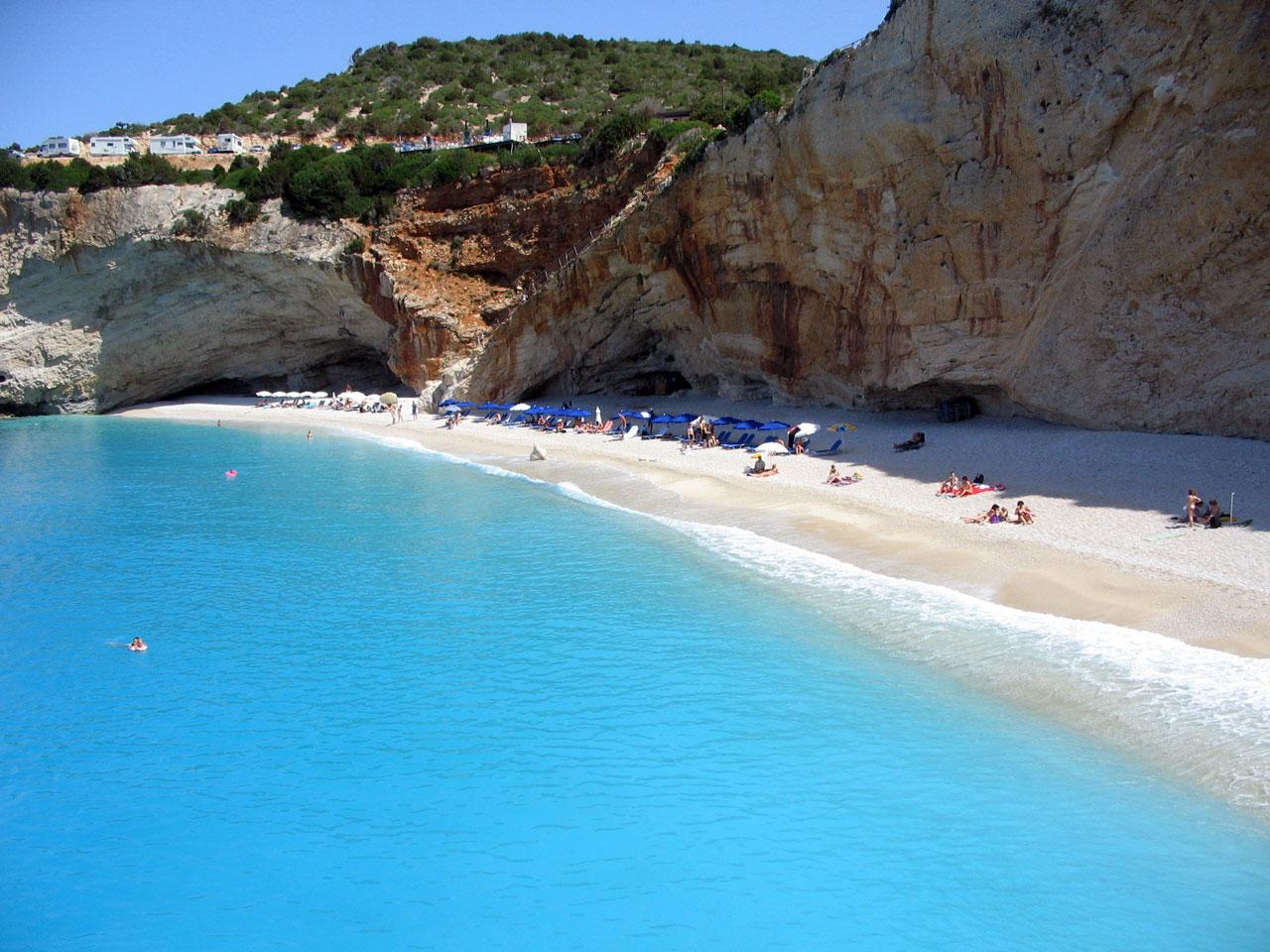 Отдых на пляжах в Греции