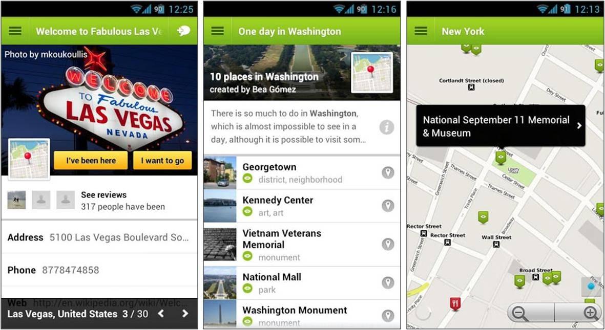 TouristEye приложение