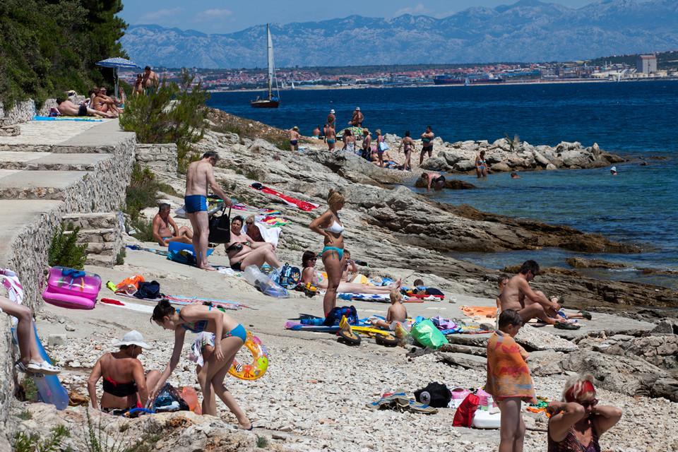 Почему пляж в Задаре не подойдет для отдыха с детьми