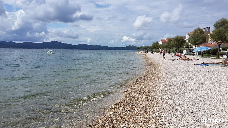 Почему пляж в Задаре не подойдет для отдыха с детьми и отзыв о сим-карте Orange