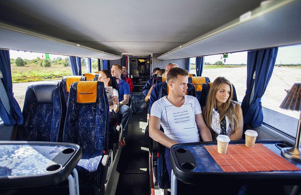 Выбираем самое комфортное место в автобусе