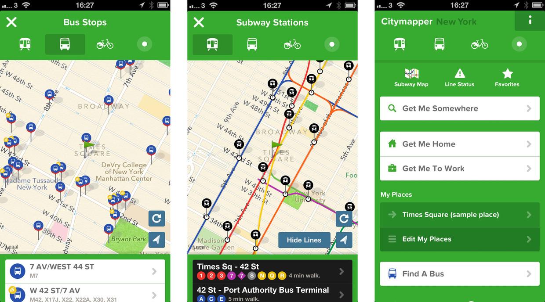 citymapper полезные приложения