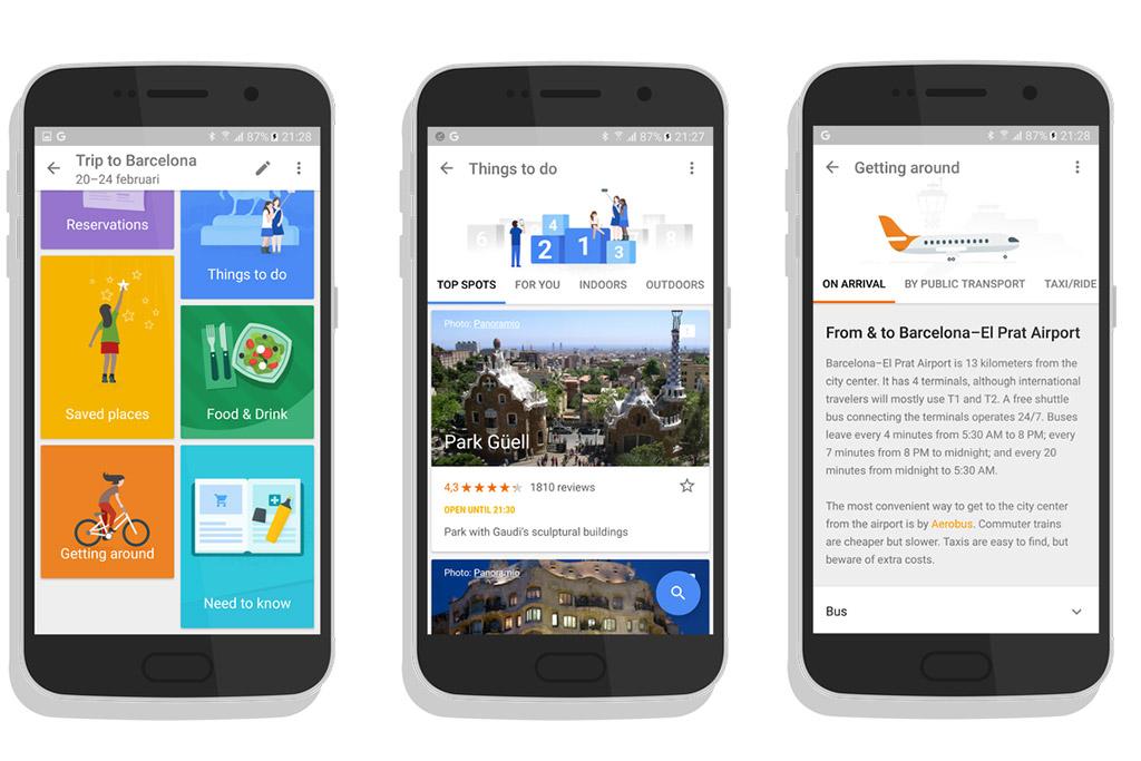 Быстро готовимся к путешествию с помощью Google Trips
