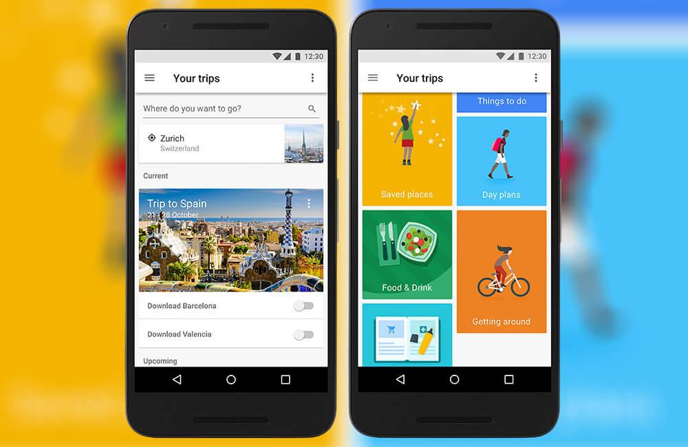 Google Trips - незаменимое приложение