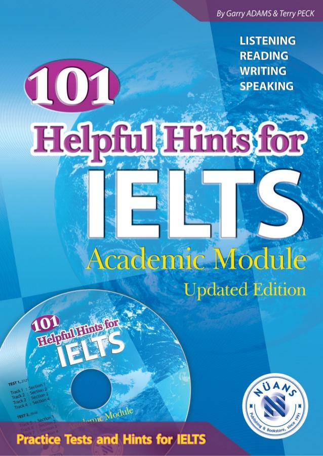 Пособие под названием «101 Helpful Hints for IELTS» от Гарри Адамса