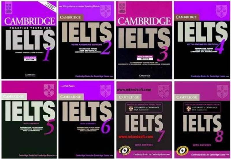 Учебные пособия «Cambridge IELTS Практические тесты 1-9»