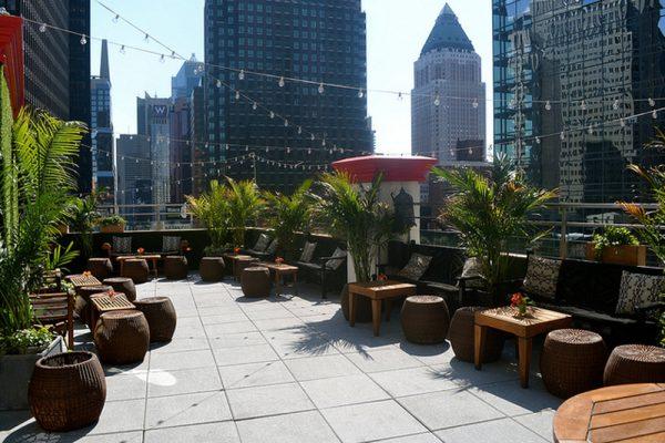 Куда сходить в Нью-Йорке за самыми красивыми видами: лучшие бары на крышах