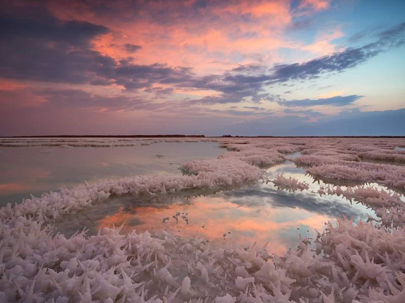 уникальные свойства Мертвого моря