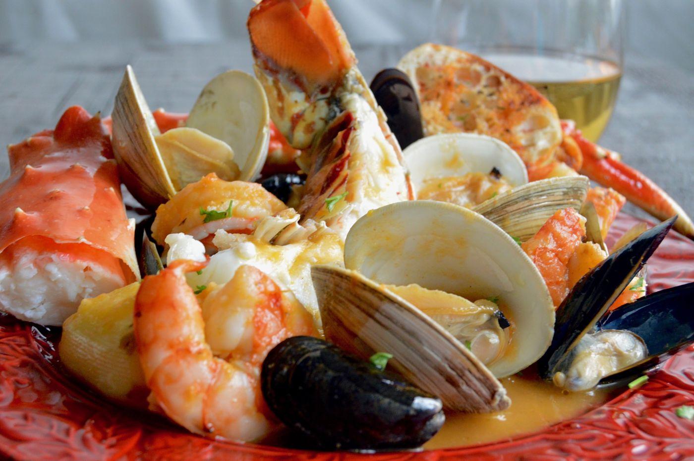 диетические блюда из морепродуктов рецепты с фото