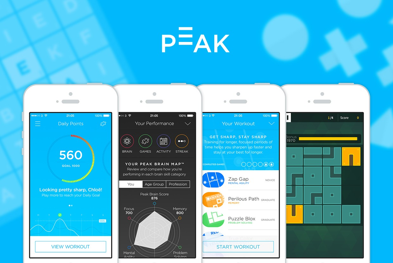 Особенности приложения Peak