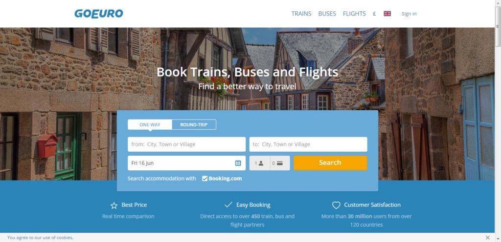 GoEuro, Колесим по Европе на автобусах