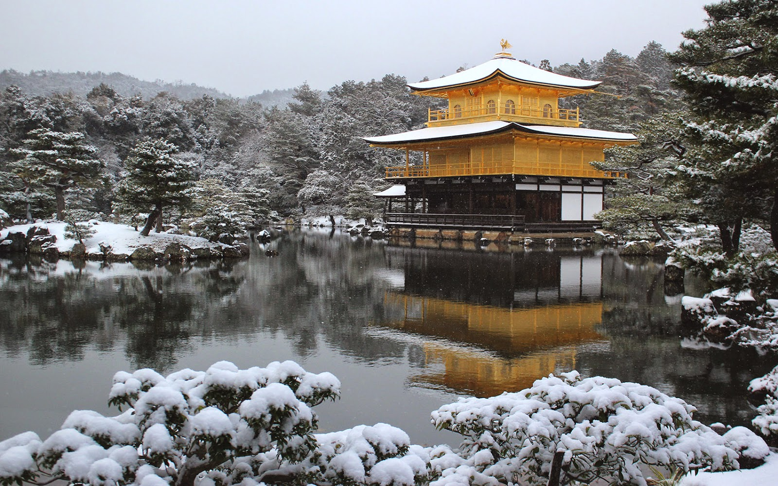 Путешествие в Киото в декабре и отзыв об опции Everywhere от Orange