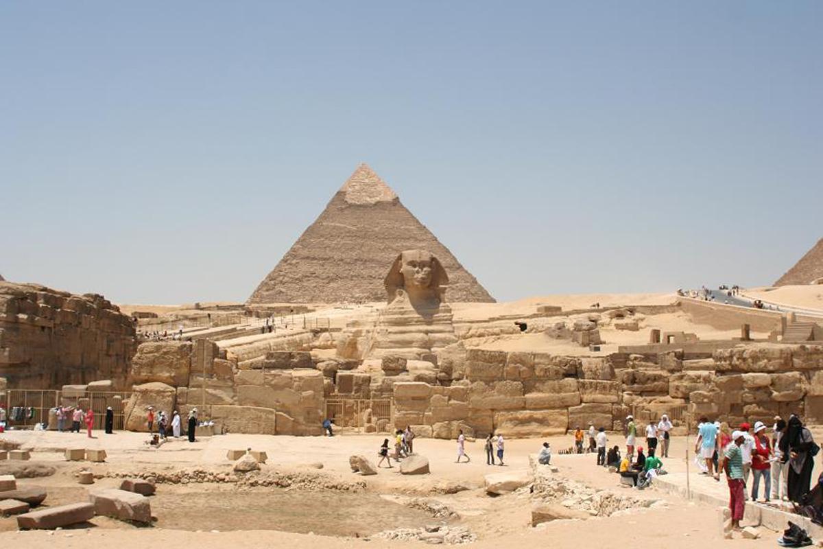 Пирамиды в Гизе, Египет туристические места