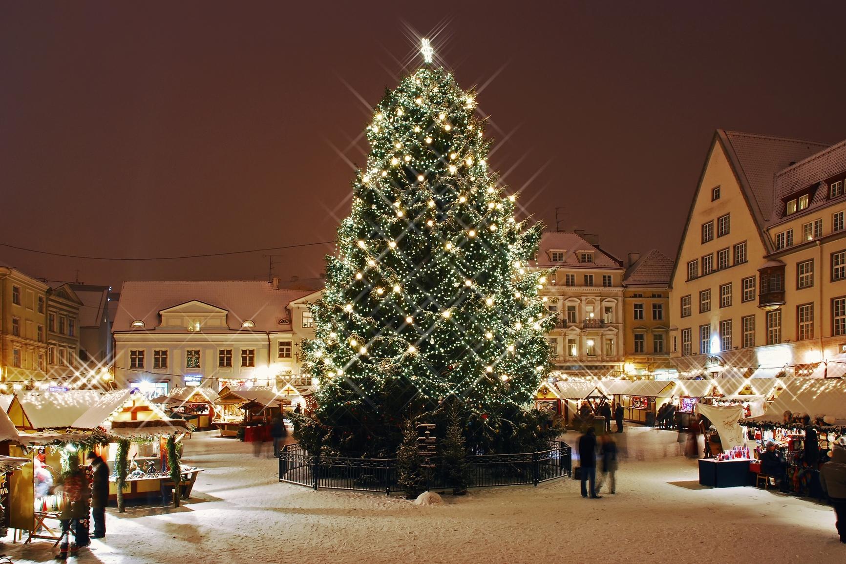 Выбираем сим-карту в России для поездки в Таллин на новогодние праздники