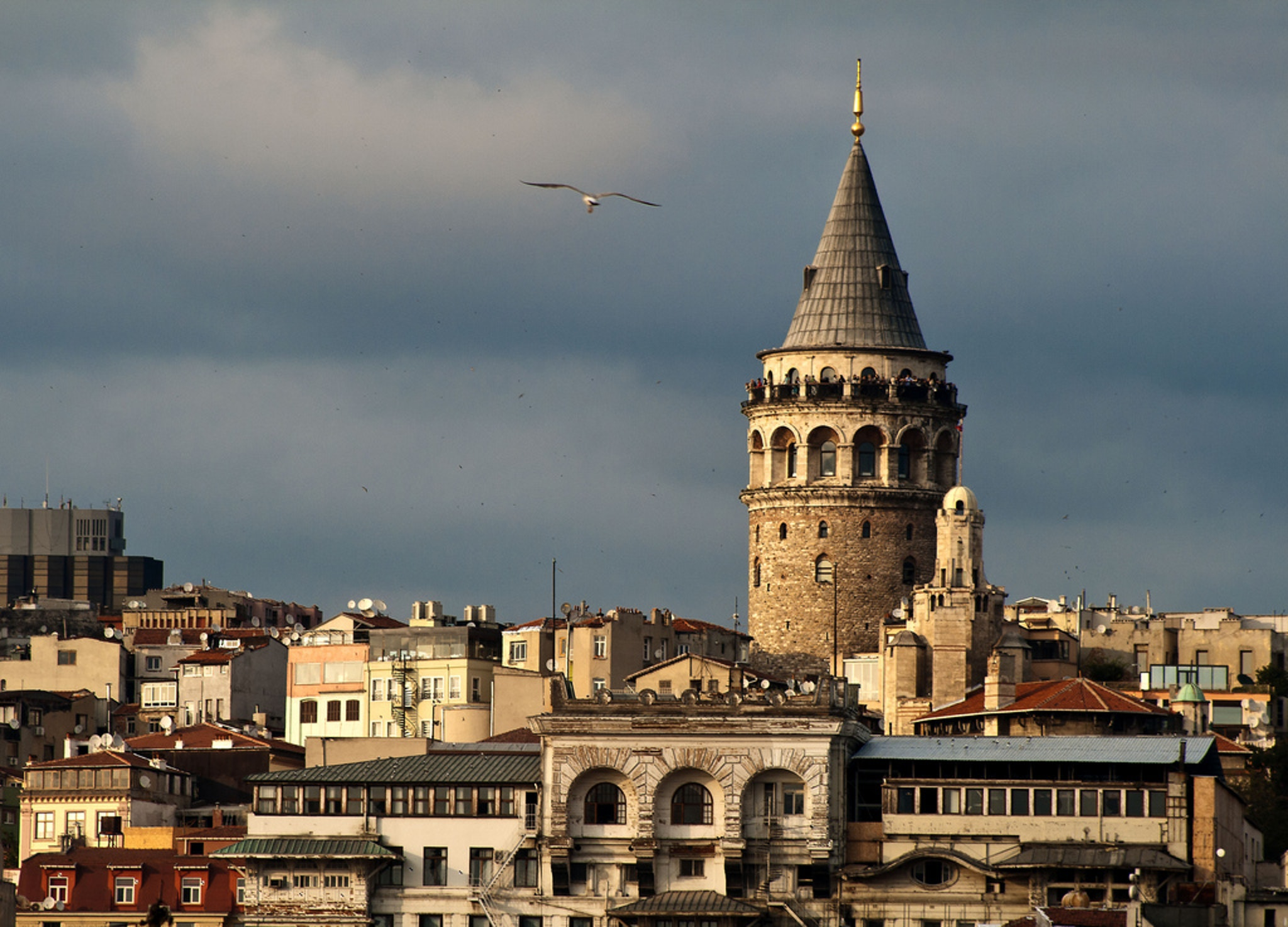 Istanbul quarter of Karakoy
