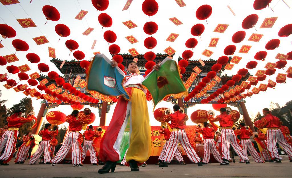 пекин фестиваль весны