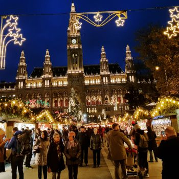 Романтический отдых в декабре с любимым в Вене