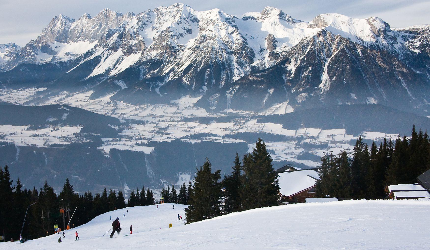 Альпийские курорты курорт Шладминг
