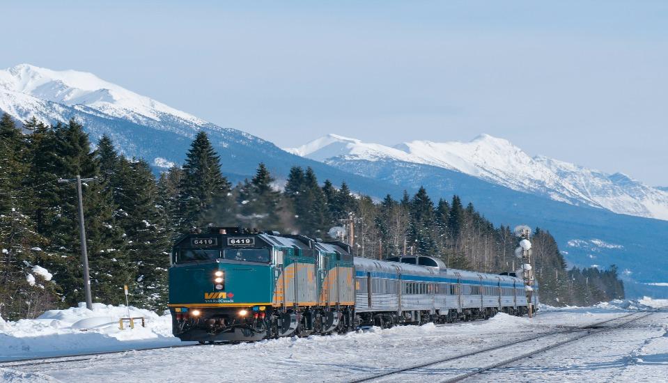 посмотреть всю Канаду за 5 дней: путешествием на поезде за границей