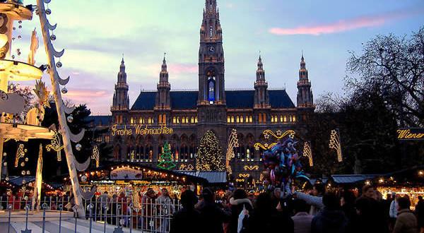 Новый год в Австрии (Вена) и отзыв о тарифе «Мегафона»