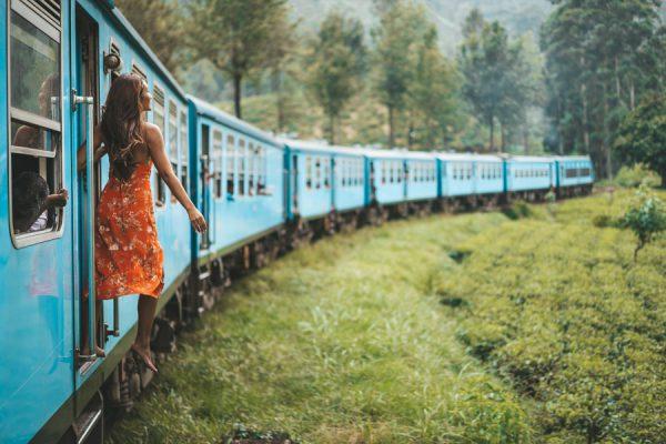 Путешествуем поездом по Шри-Ланке