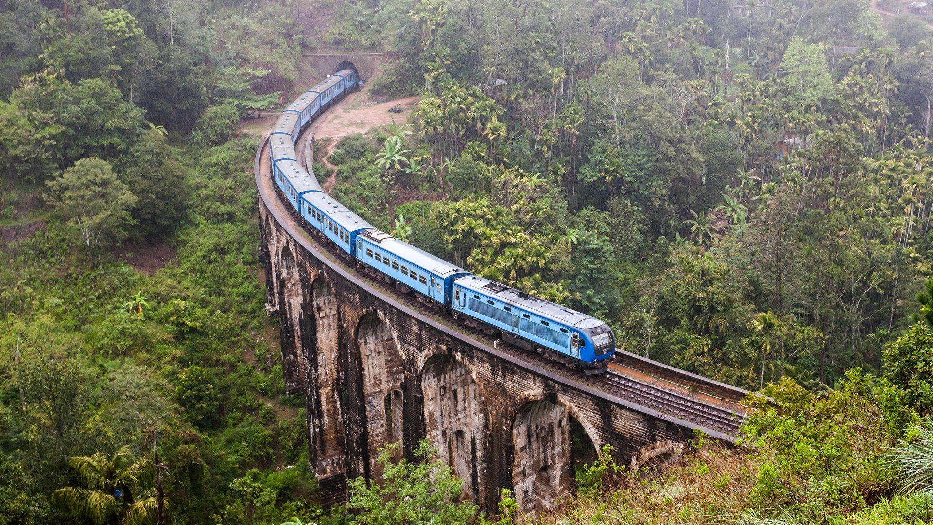 Путешествуем поездом по Шри-Ланке – полезная информация