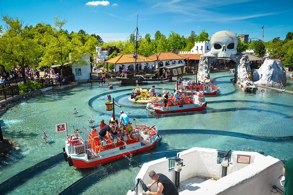 LEGOLAND, Топ-4 парка развлечений, которые не уступают Диснейленду в Париже