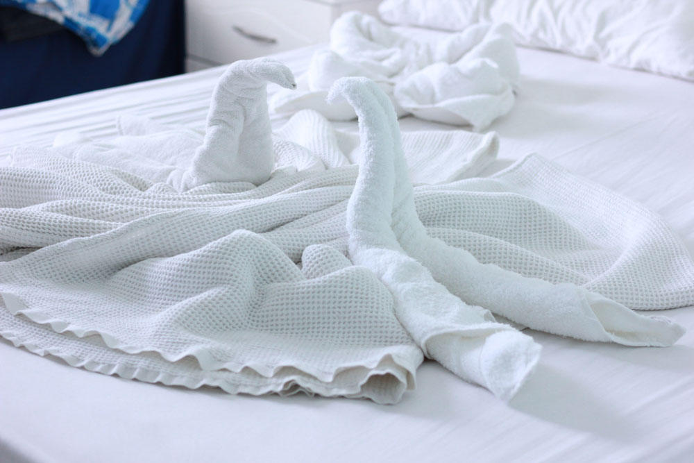 правила простой дезинфекции в номере отеля