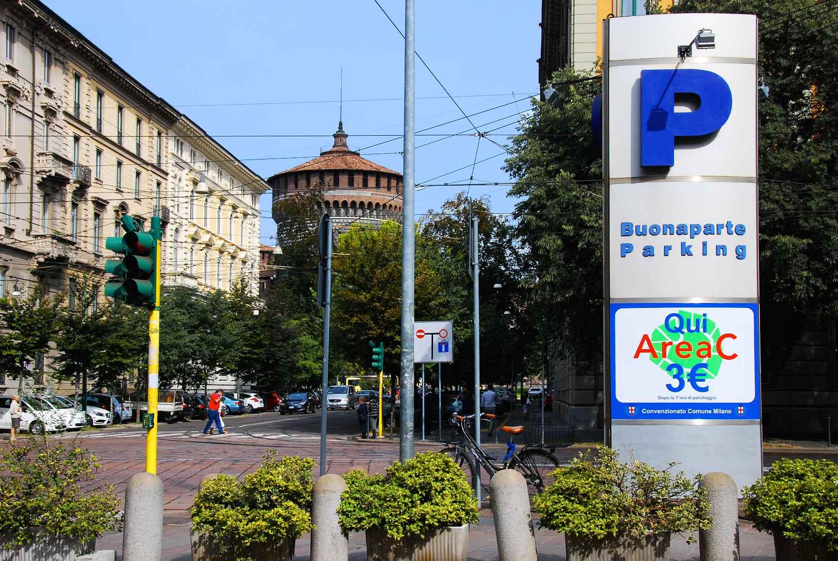 Платные дороги и парковки Милана