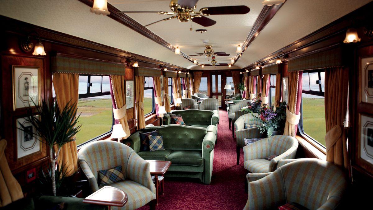 роскошные поезда Belmond Royal Scotsman