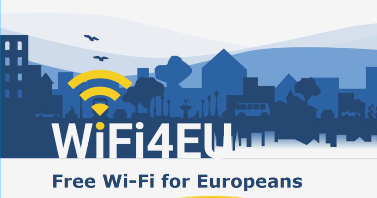 Проект WiFi4EU проект «Единая сеть для Европы»