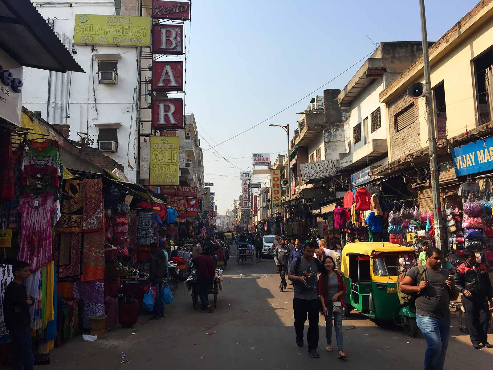 поездка в Дели и отзыв о тарифе GlobalSim