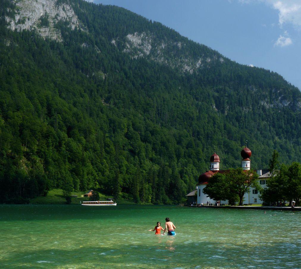 Лучшие бюджетные достопримечательности: озеро Кёнигзее