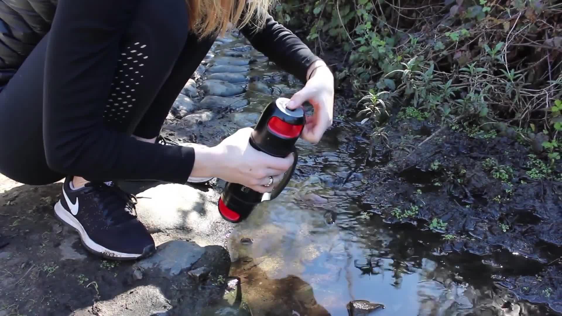 Решить вопрос с питьевой водой в походе теперь проще