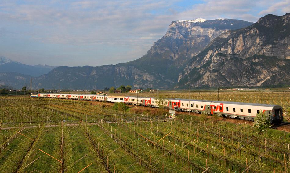 Из Москвы в Ниццу на поезде: информация для путешественника