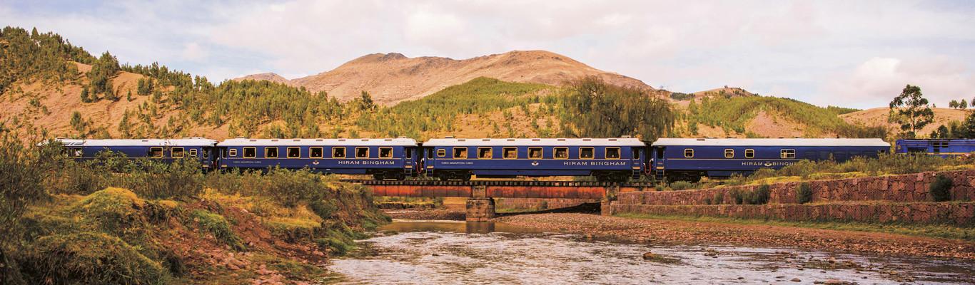 На поезде Belmond Hiram Bingham в Мачу-Пикчу