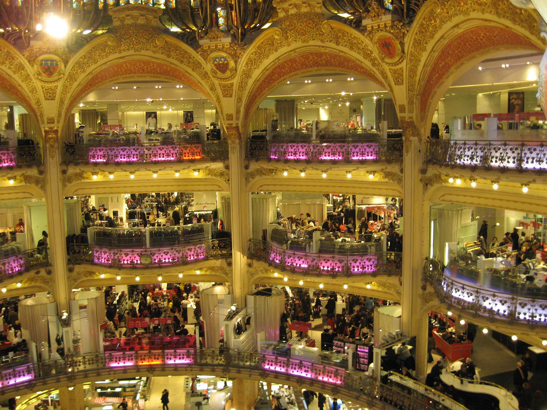 шопинг в Париже Le Printemps