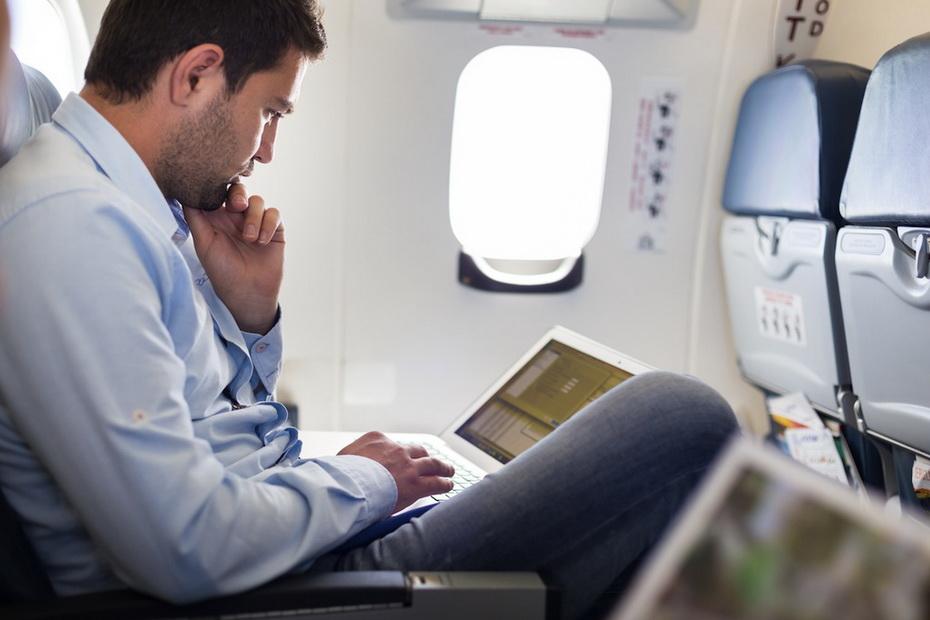 Wi-Fi на борту самолета «Аэрофлота»