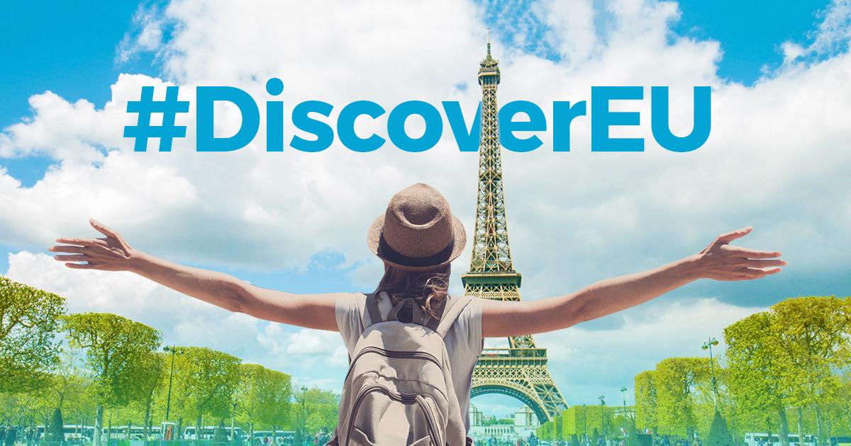 «DiscoverEU» – бесплатные путешествия для молодежи