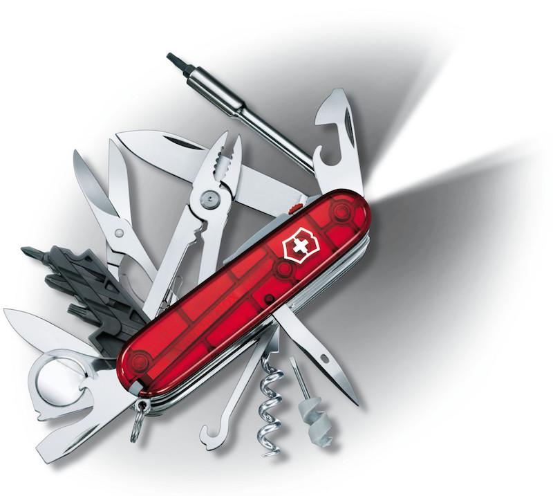 швейцарском армейском универсальном нож