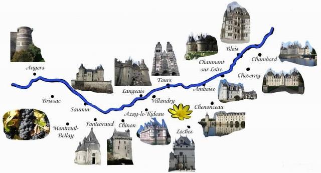 lАвтомобильное путешествие по замкам Луары